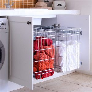 Pull Out Laundry Baskets Storage