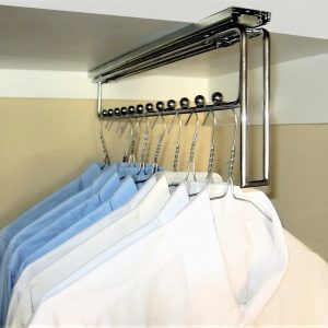 Sliding Hanger Clothes Storage