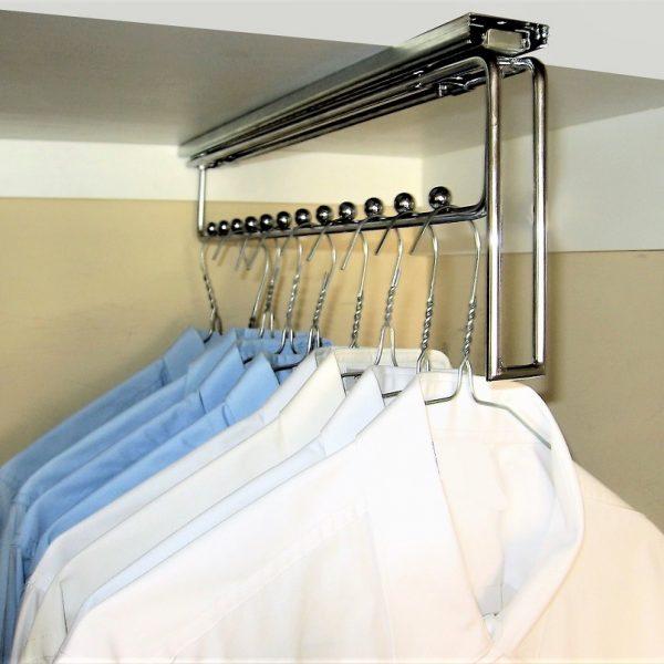 Sliding Hanger Clothes Storage