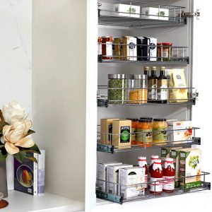 Pull Out Pantry Solution
