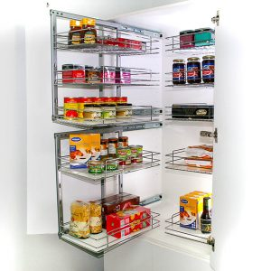 Slide Out Pantry Kitchen