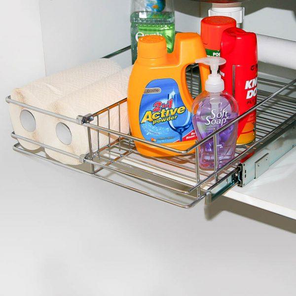 Bottom Mount Under Sink Basket