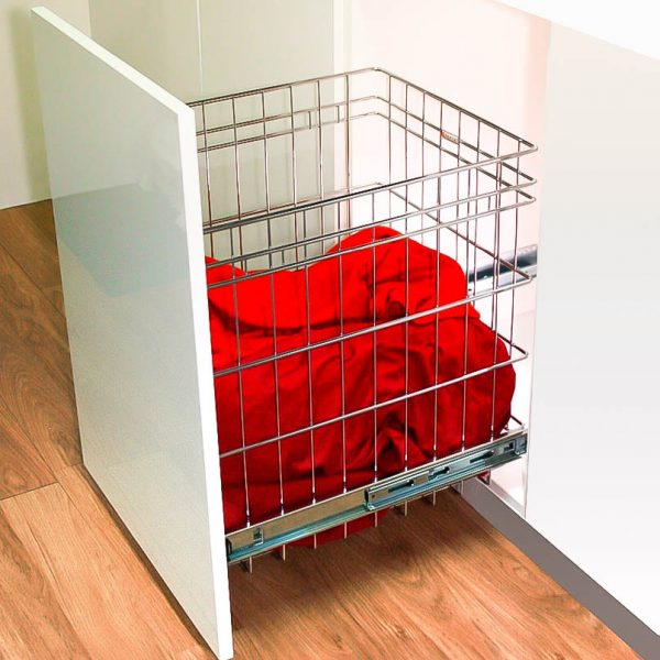 Door Mount Laundry Basket Pull Out laundry Hamper