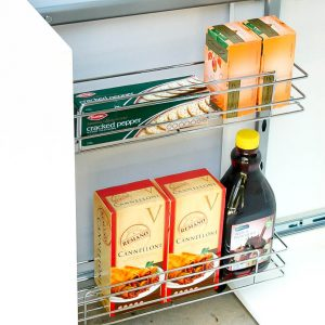 Multi Purpose Pull Outs Narrow Kitchen Cabinet