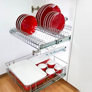 Pull Out Plate Rack