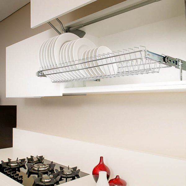 Pull Out Plate Racks Plate Storage