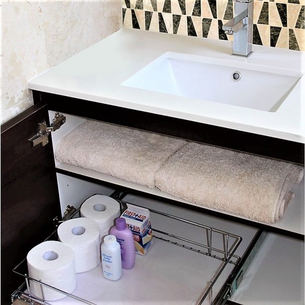 Individual Baskets Bathroom Drawers
