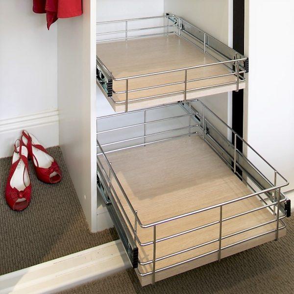 Wardrobe Basket Storage