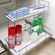 Detergent Pull Out Shallow Under Sink Storage