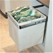 Pull Out Canvas Laundry Basket