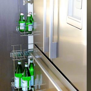 Spice Rack - Tansel Stainless Steel Pull Out Storage