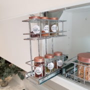 Overhead Pull Out Spice Rack | Tansel