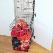 Tall Laundry Cabinet Hamper