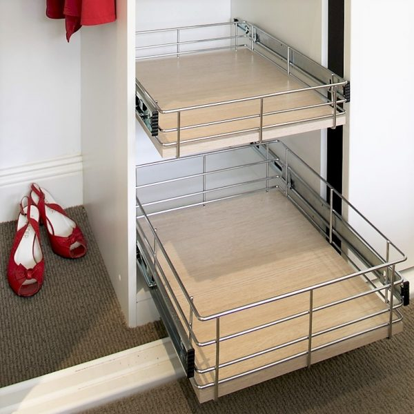 Wardrobe Basket Storage