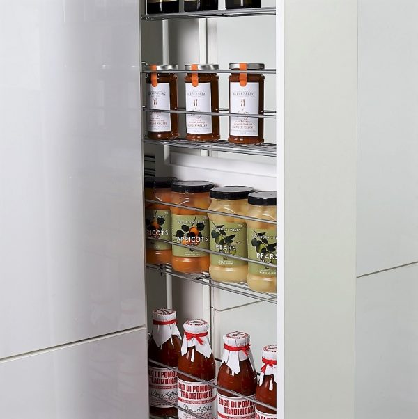 Slimline Pull Out Narrow Pantry
