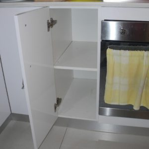 Narrow Kitchen Makeover Before